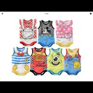New Cute Disney onesies in select styles